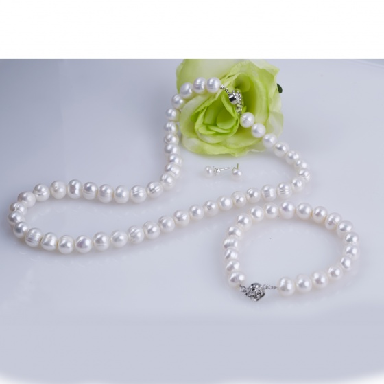 Opal - Bộ ngọc trai trắng - T05