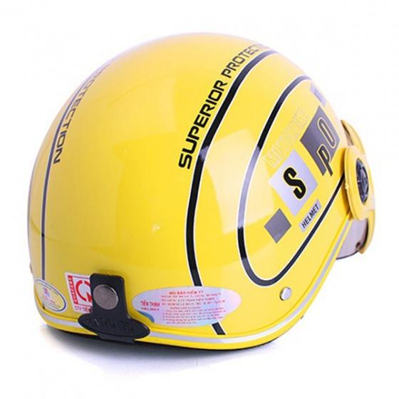 Mũ bảo hiểm SPO cao cấp (Vàng)