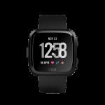 Đồng hồ thông minh FITBIT Versa (NFC), Black / Black Aluminum