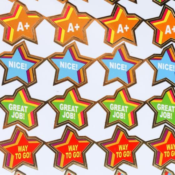 Sticker khen thưởng cho bé 2 tờ UBL SL0264