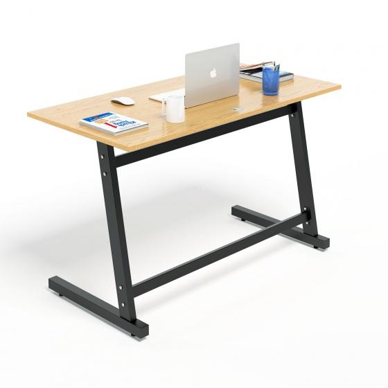 Bộ bàn làm việc CZN-Pisa gỗ cao su veneer sồi chân đen và ghế CZN502  - COZINO