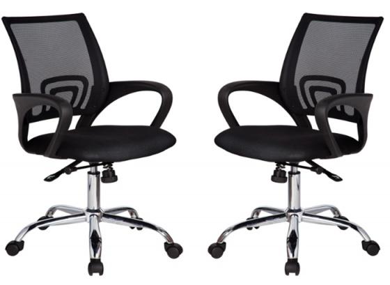 Bộ bàn làm việc CZN-Pisa gỗ cao su veneer sồi chân trắng và ghế CZN502 - Cozino