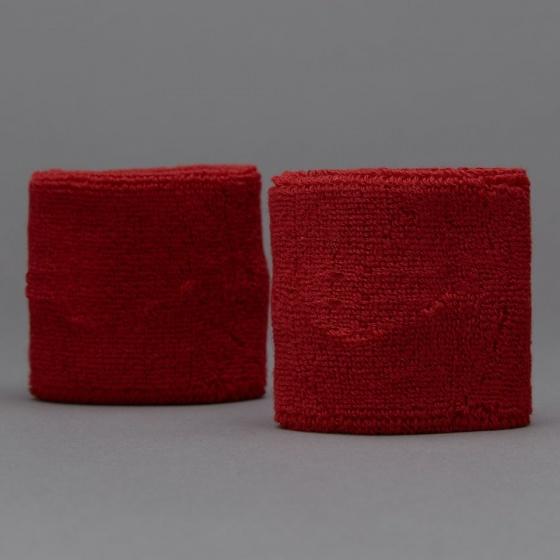 Băng cổ tay thể thao nữ thoáng khí bộ 2 cái (red) thấm mồ hôi, mềm mại, bảo vệ cổ tay