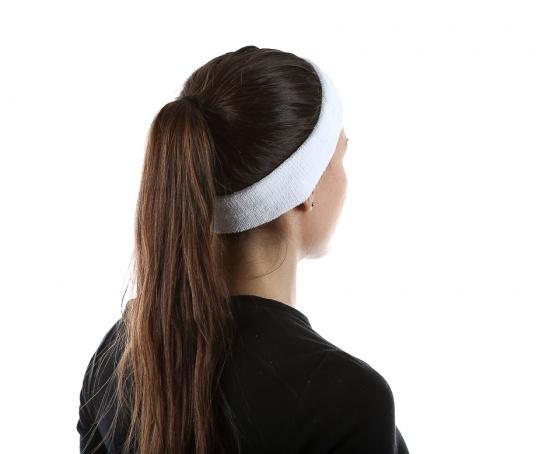 Băng trán thể thao nữ thoáng khí thấm mồ hôi (white) mềm mại, chất liệu cao cấp