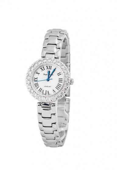 Combo 2sp đồng hồ nữ chính hãng Royal Crown 5308 dây đá và 6305 dây thép