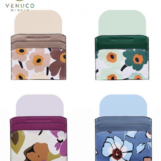 Ví thẻ Venuco Madrid Q28 xanh lá