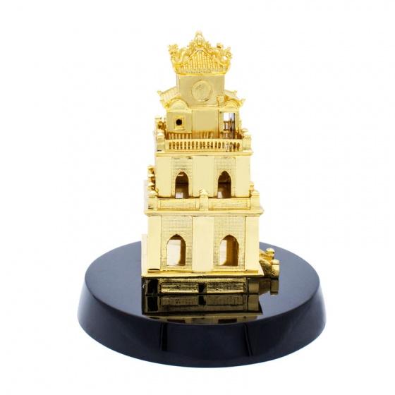 Quà tặng ngoại giao - Biểu tượng tháp rùa mạ vàng (size lớn)