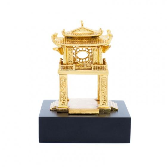 Quà tặng lưu niệm Hà Nội - Khuê Văn Các mạ vàng (size nhỏ)
