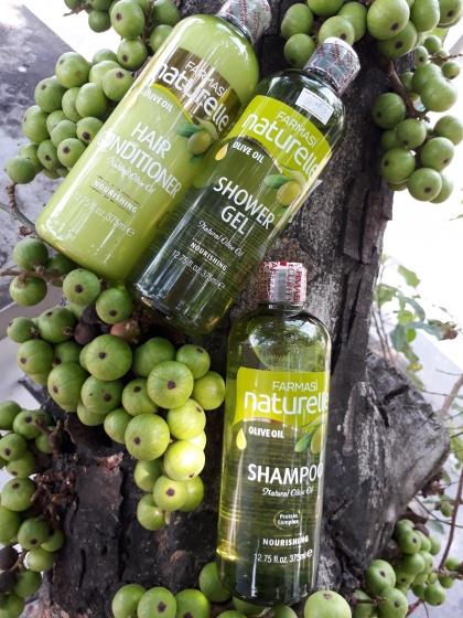 Bộ 3 sản phẩm sữa tắm - dầu gội - dầu xả chiết xuất olive Farmasi