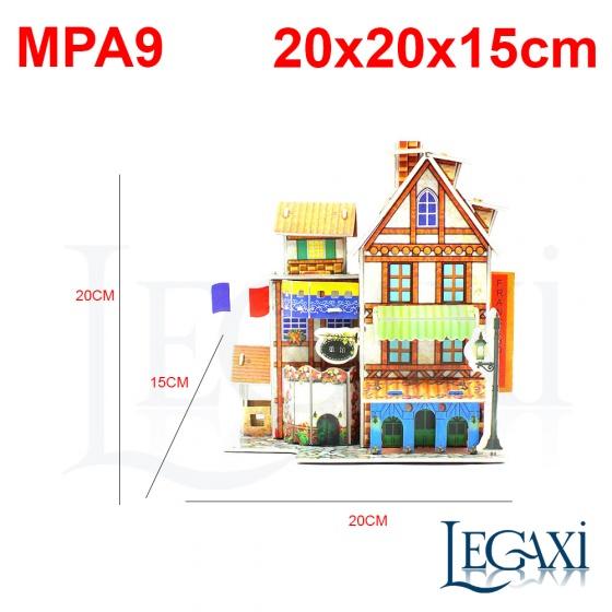 Bộ lắp ráp mô hình giấy MPA9