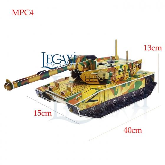 Bộ lắp ráp mô hình giấy MPC4