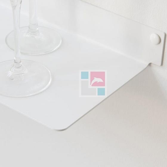 Kệ trang trí nhà tắm SMLIFE4515 (Set 4) - Màu trắng