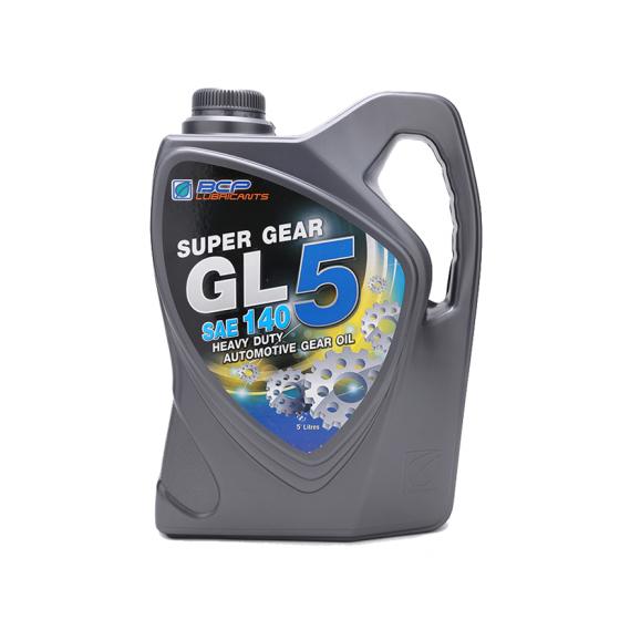 Nhớt cầu động cơ ô tô - BCP SUPER GEAR GL-5 140 - 5L