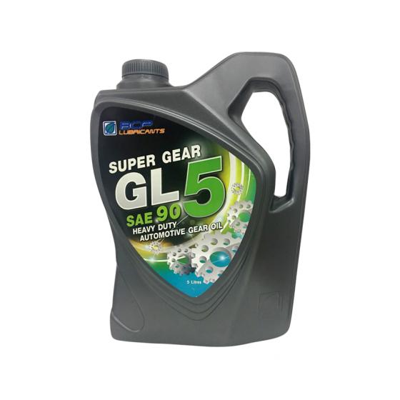 Nhớt hộp số động cơ ô tô nhập khẩu Thái Lan - BCP SUPER GEAR GL-5 90 - 5L