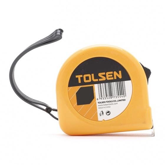 Thước cuộn Tolsen 35012 7,5m (Vàng)