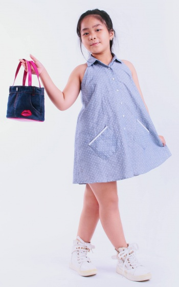 UKID85 - Đầm bé gái