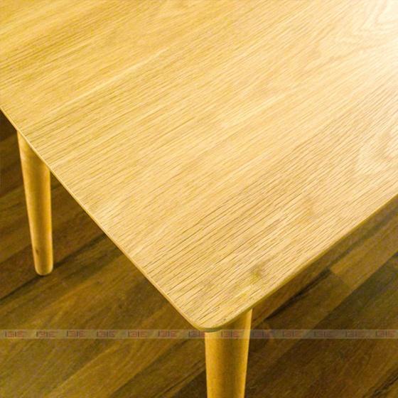 Bộ bàn ăn 4 ghế IBIE cacao màu tự nhiên