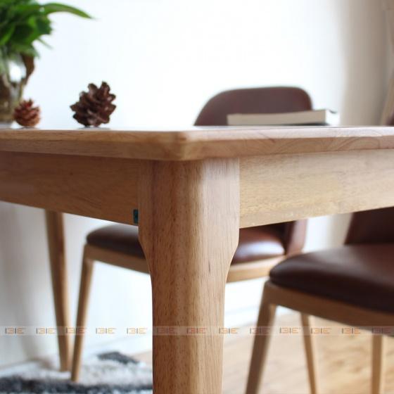 Bộ bàn ăn 4 ghế IBIE Grace màu tự nhiên