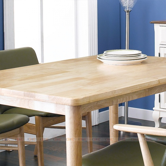 Bộ bàn ăn 4 ghế IBIE Tores màu tự nhiên