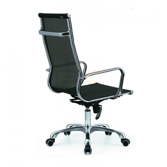 Bộ bàn IBIE Rec-Z trắng và ghế IB16A đen