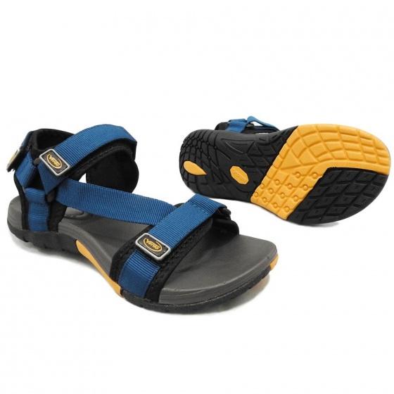 Giày sandal nam nữ 2 quai ngang hiệu Vento NV4538BCh