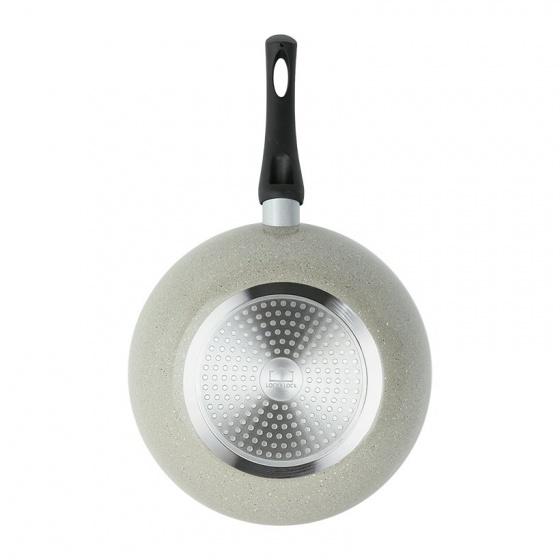 Chảo nhôm sâu lòng siêu chống dính Cookplus Hard&Light Marble  LHB9285-IH  28cm