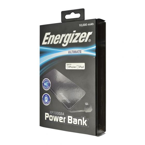 Pin sạc dự phòng Energizer Lightning 10,000mAh - XP10002A
