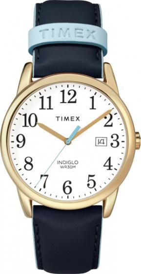 Đồng hồ chính hãng Unisex Timex Easy Reader Color Pop 38mm-TW2R62600