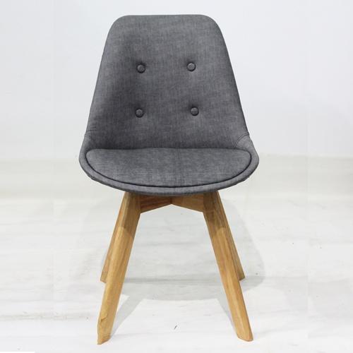 Ghế ăn, ghế cafe nệm chân gỗ đẹp - Mã: 203