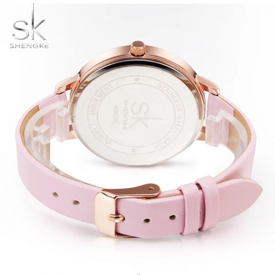 Đồng hồ nữ chính hãng Shengke Korea K0039L-01