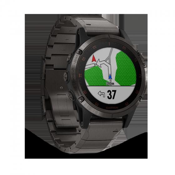 Đồng hồ thông minh Garmin Fenix 5 Plus Ti Band