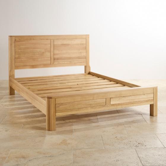 Giường đôi Emley gỗ sồi 1m8 - Cozino