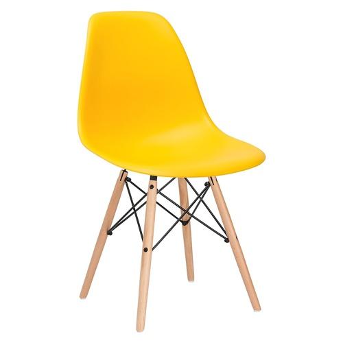 Ghế cafe, ghế ăn nhựa chân gỗ – Mã: 207