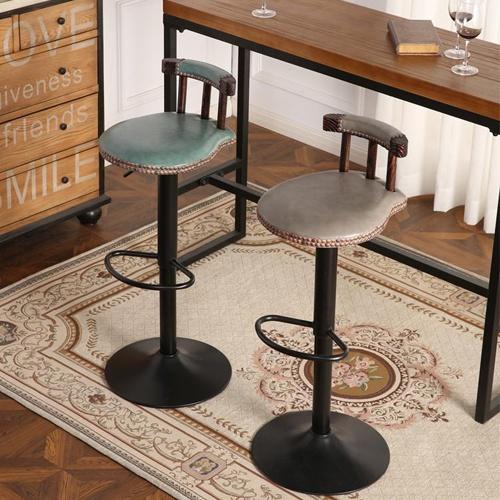 Ghế bar phong cách cổ điển nhập khẩu 2018 Lavaco- Mã 435