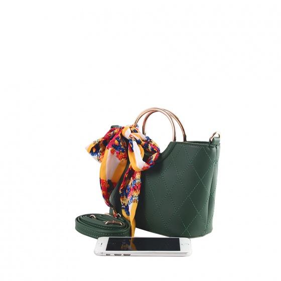 Túi thời trang Verchini màu xanh rêu 02002979