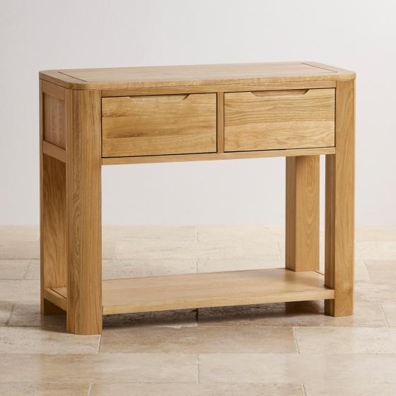 Bàn Console Emley gỗ sồi 1m - Cozino