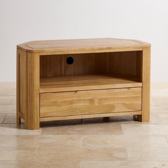 Tủ tivi góc Emley gỗ sồi - Cozino