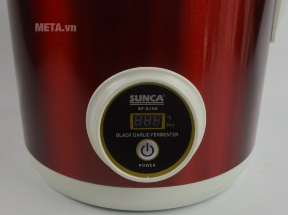 Máy làm tỏi đen gia đình Sunca FS-G100 5L (Trắng phối tím) - Hàng nhập khẩu
