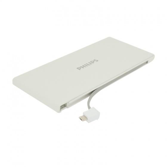 Pin sạc dự phòng Philips DLP1130S 10000mAh tích hợp cáp Micro USB