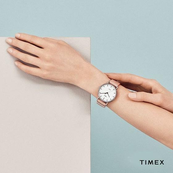 Đồng hồ nữ Timex Fairfield Women's Crystal - TW2R70400
