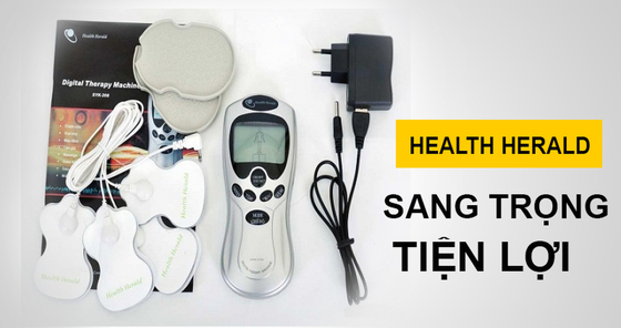 Hình ảnh Máy massage trị liệu 4 miếng dán TDS Health Herald