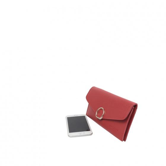 Bóp cầm tay Verchini màu đỏ 010110