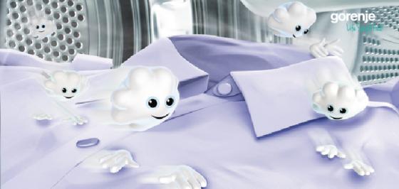Máy giặt sấy cao cấp âm tủ Gorenje - WDI73120
