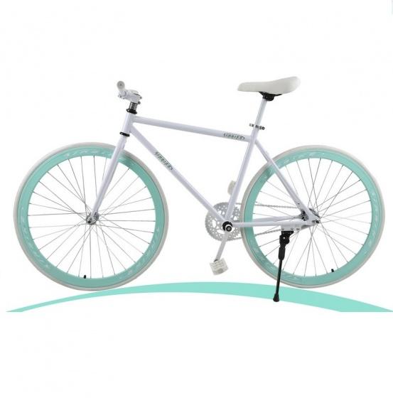 Xe đạp thể thao Fixed Gear (màu trắng)