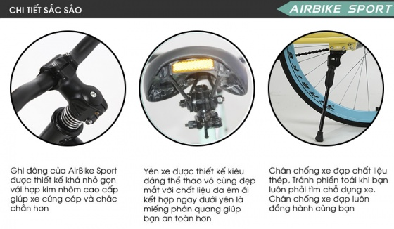 Xe đạp không phanh Fixed Gear ( Màu đen )