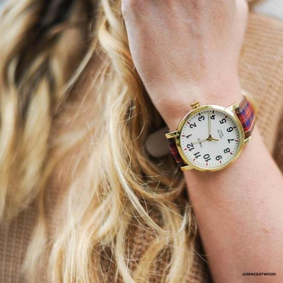 Đồng hồ Unisex Timex Originals Perfectly Plaid - TW2P69600
