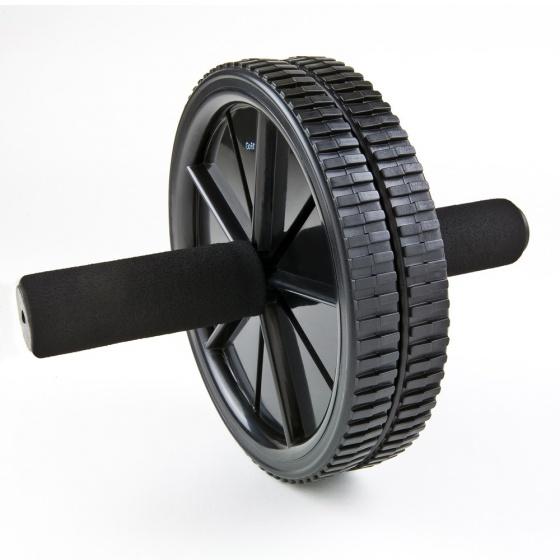 Bánh xe tập cơ bụng Go-Fit Dual Exercise AB Wheel chất lượng cao