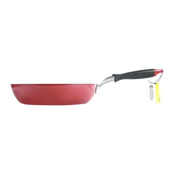Chảo chống dính cao cấp E-Cook Deco Lock&Lock LED2263R-IH 26cm - Đỏ