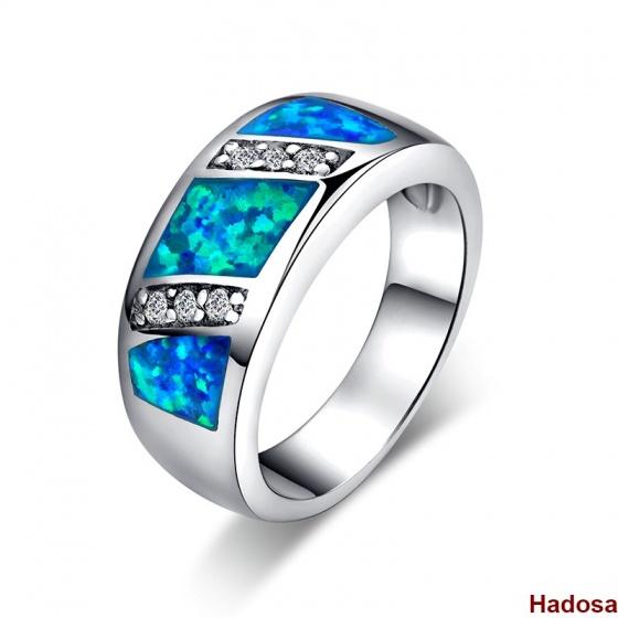 Nhẫn nữ bạc đính đá