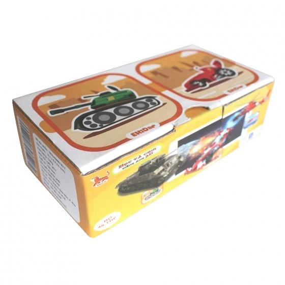 Bộ 48 thẻ 3D xếp hình Ekidar (Xe Cộ)